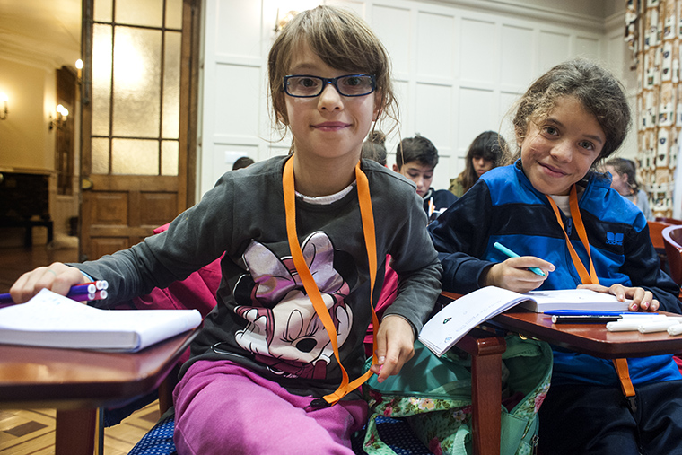200 children and adolescents from Local Child Participation Councils in Spain meet at the 4th National Child Participation Conference in the city of Santander.