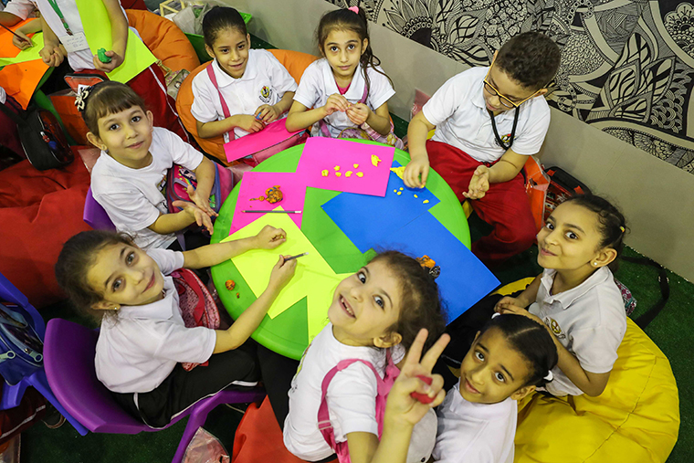 Participatory games at Sharjah Girls Guide