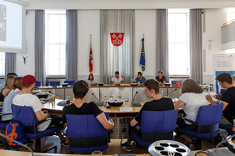 Youth Parliament in Regensburg