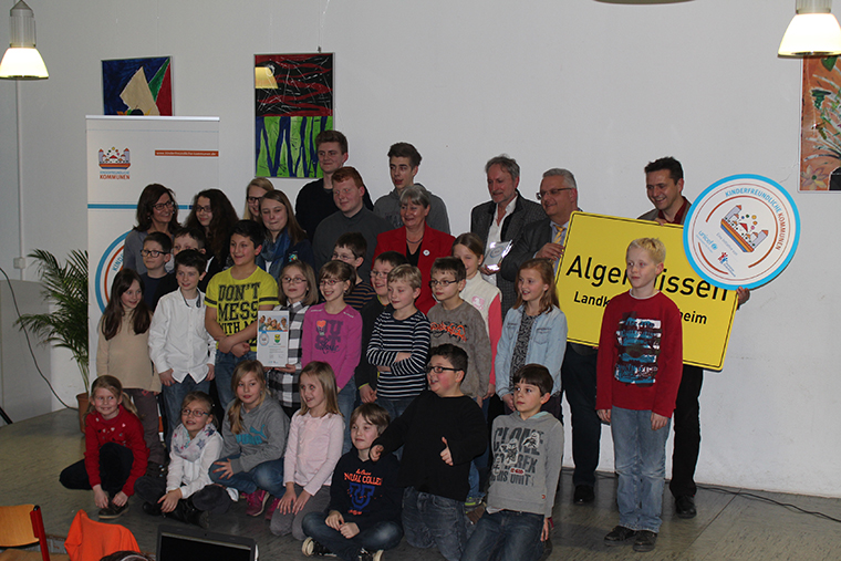 CFCI Seal award ceremony in the town of Algermissen