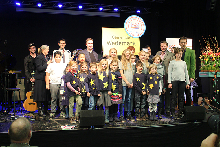 CFCI Seal award ceremony in the town of Wedemark