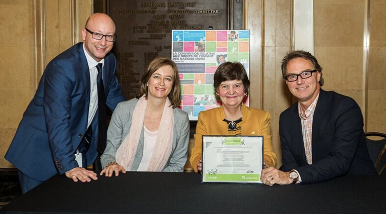 City of Montreal receives MAE recognition.