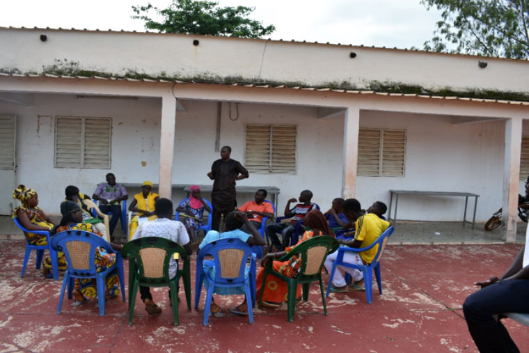 Meeting of the children's council in Kédougou